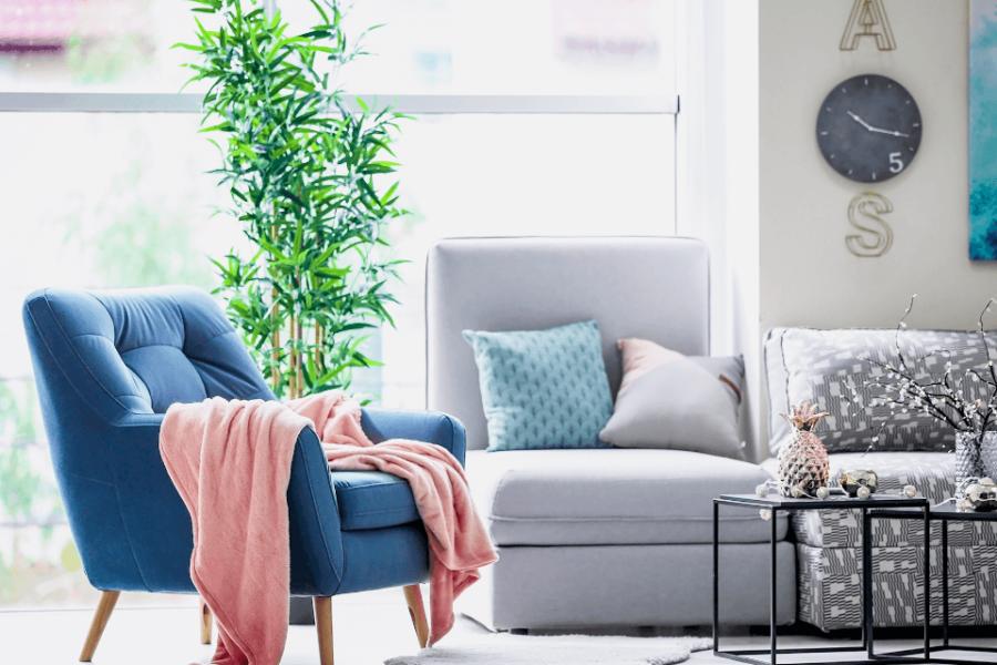 انتخاب عناصر داخلی برای اتاق نشیمن